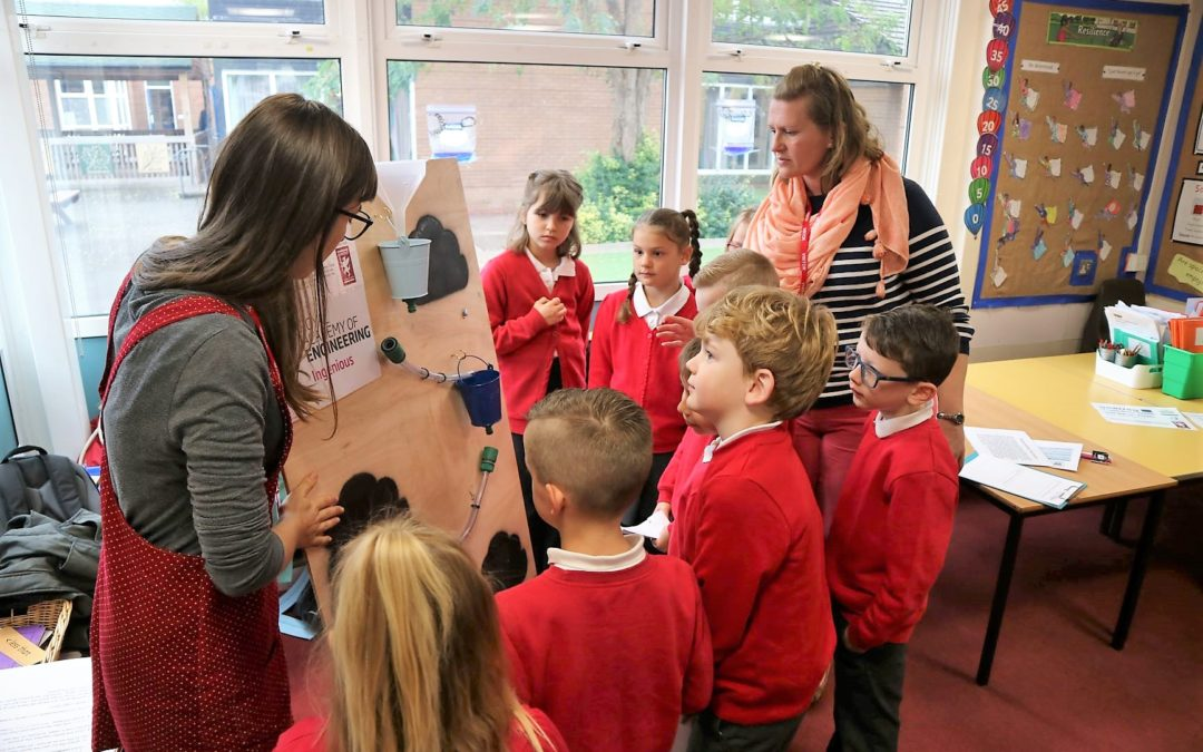 Inspiring the engineers of the future at Taunton's primary schools!